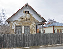 Transylvania Ruin House Royalty Free Stock Image