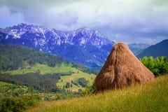 Transylvania Rumänien naturlandskap, berglandskap Arkivfoto