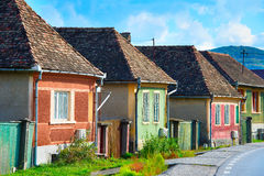 Transylvania traditional houses Stock Images