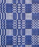 Transylvania traditional rug. Done manually Royalty Free Stock Photo