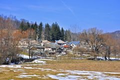 Transylvania village Stock Photography