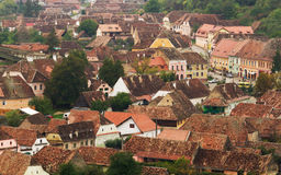 Transylvania village landscape Royalty Free Stock Images