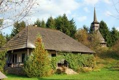 Transylvania wooden house royalty free stock photo