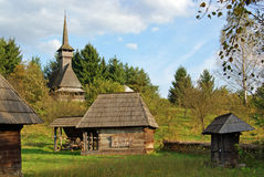 Transylvania wooden household Stock Photos