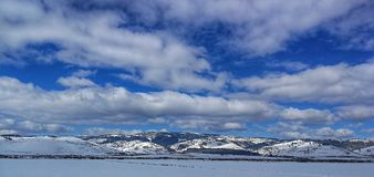 transylvanian зима Стоковые Фотографии RF