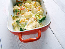 Transylvanian Cauliflower Casserole Royalty Free Stock Photography
