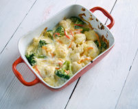 Transylvanian Cauliflower Casserole Stock Photo