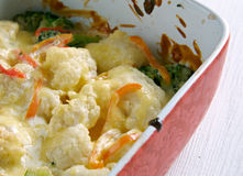 Transylvanian Cauliflower Casserole Royalty Free Stock Photo