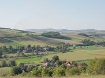 Transylvanian countryside landscape Stock Photo