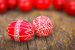 Transylvanian Easter eggs Stock Image