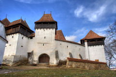 Transylvanian fortress. Fortified church in Transylvania Romania on the UNESCO heritage list stock images