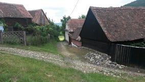 Transylvanian-Häuser Lizenzfreies Stockbild