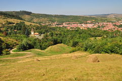 A transylvanian village Stock Image