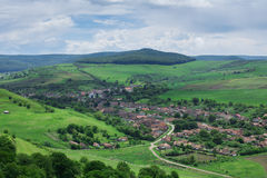 Transylvanian Village (Cetatea de Balta), Romania Royalty Free Stock Photo