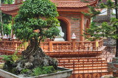 Tranu Quoc Hanoi pagoda Zdjęcia Royalty Free
