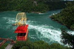 Tranvía aérea en Niagara Falls Imagen de archivo libre de regalías
