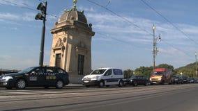 Tranvía cerca del puente de la legión, Praga metrajes