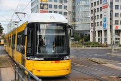 Tranvía de Berlín foto de archivo