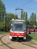 Tranvía de Brno Foto de archivo