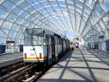 Tranvía de Bucarest fotos de archivo libres de regalías