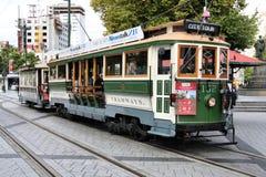 Tranvía de Christchurch Imagenes de archivo
