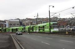 Tranvía de Estambul Imagen de archivo libre de regalías