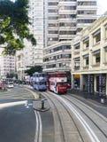 Tranvía de Hong-Kong Foto de archivo