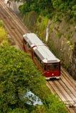 Tranvía de la montaña de Hong-Kong Fotografía de archivo