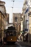 Tranvía de Lisboa Fotografía de archivo
