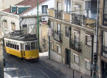 Tranvía de Lisboa Imagenes de archivo