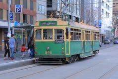 Tranvía de Melbourne Imágenes de archivo libres de regalías