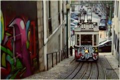 Tranvía de Portugal Fotos de archivo