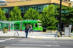 Tranvía de Seattle Imágenes de archivo libres de regalías