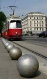 Tranvía de Viena Imágenes de archivo libres de regalías