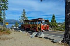 Tranvía del lago Tahoe Imagen de archivo libre de regalías