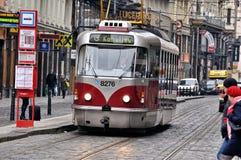 Tranvía en Budapest Foto de archivo