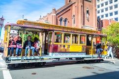 Tranvía en California Foto de archivo libre de regalías