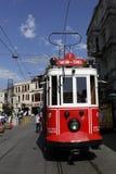 Tranvía en Estambul, Turquía Fotos de archivo