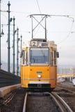 Tranvía en Hungría Imágenes de archivo libres de regalías