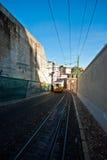 Tranvía en Lisboa Fotos de archivo