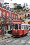 Tranvía en Lisboa, Portugal foto de archivo libre de regalías