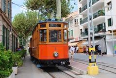 Tranvía histórica de Soller, Majorca Foto de archivo libre de regalías