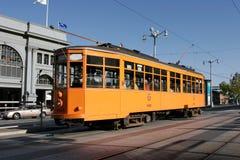 Tranvía histórico en San Francisco Imágenes de archivo libres de regalías
