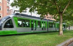 Tranvía móvil Imagenes de archivo