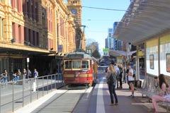 Tranvía Melbourne Fotos de archivo libres de regalías