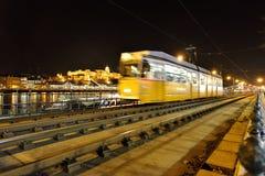 Tranvía rápida en Budapest Fotografía de archivo