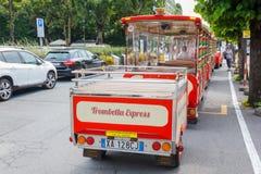 Tranvía turística imagen de archivo libre de regalías