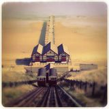 Tranvía victoriana Fotos de archivo