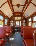 Tranvía vieja en Oporto, Portugal imagen de archivo libre de regalías