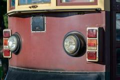 Tranvía vieja Front View Foto de archivo libre de regalías